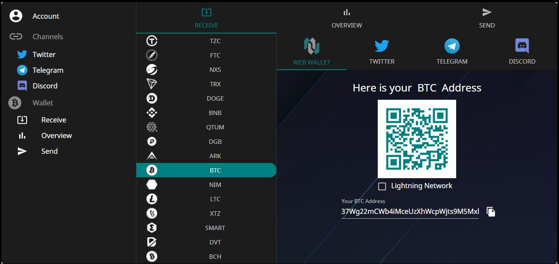 CoinKit Web Wallet Native