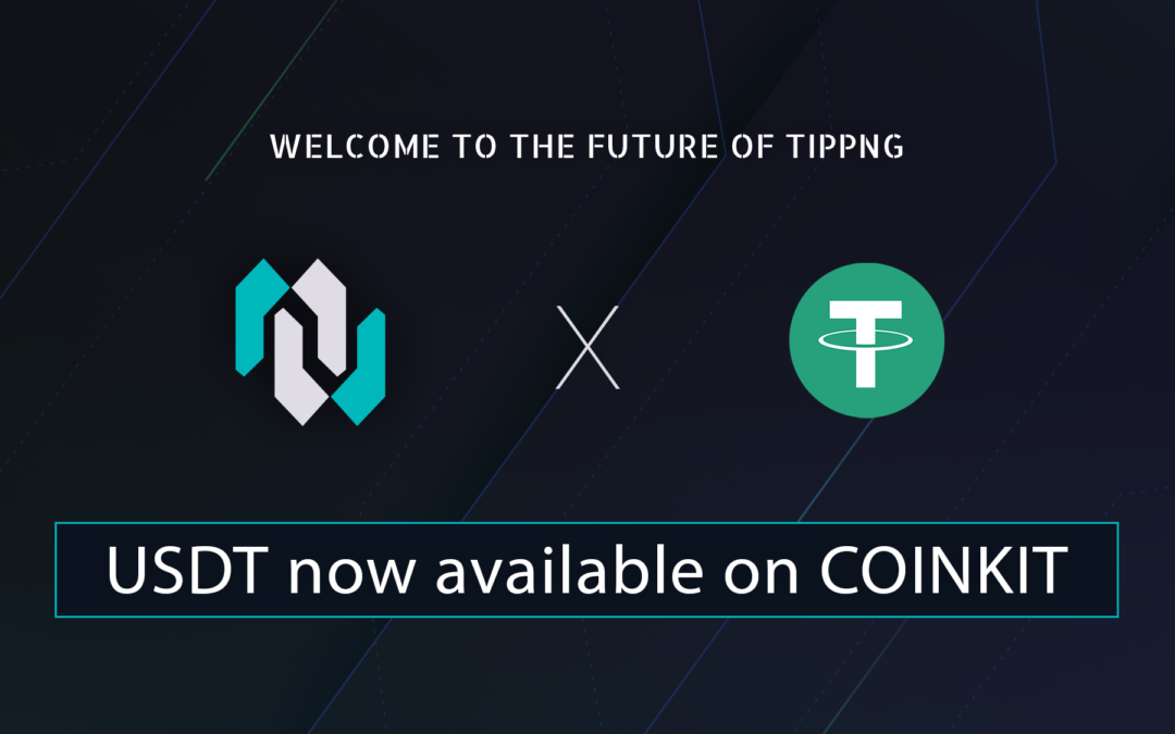 CoinKit adds USDT ( TRON )