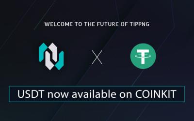 CoinKit adds USDT ( TRON )