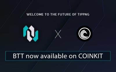 CoinKit adds BTT